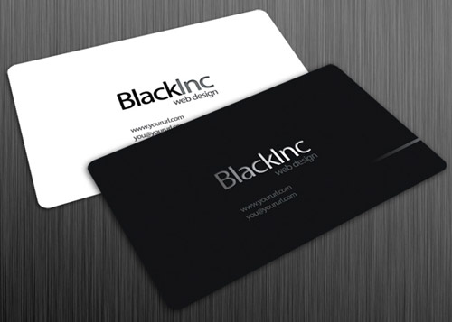 Simply Cool Business Card