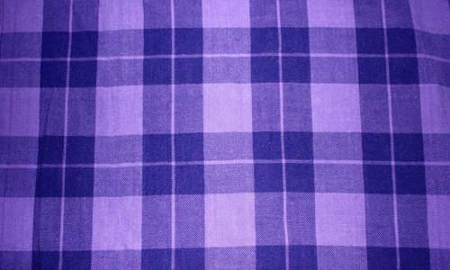 Relaxingly Comforting Plaid Fabric Texture