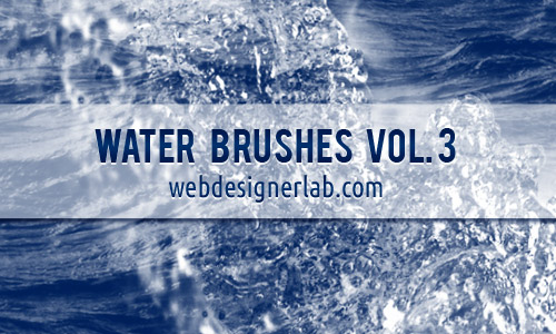 wave free water PS brushes