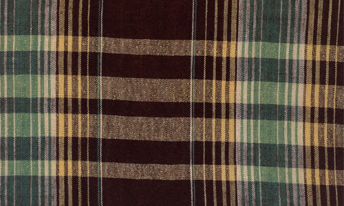 Attractively Done Brown Plaid Fabric Texture