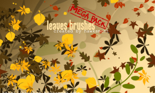 Huge Leaf Brush Set