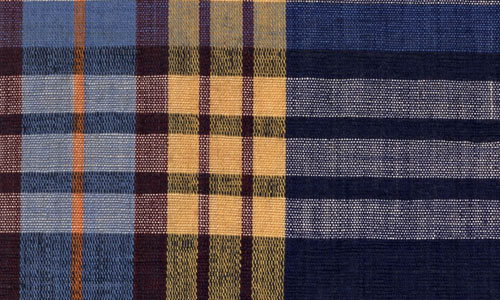Nicely Made Darker Plaid Fabric Texture