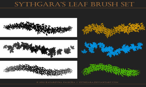 Smooth Leaf Brush Set