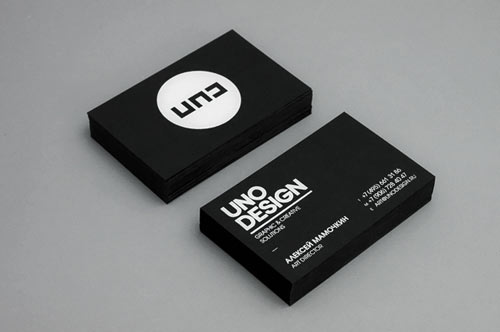 Neat and Cool Collection of Black and White Business Cards | Naldz ...