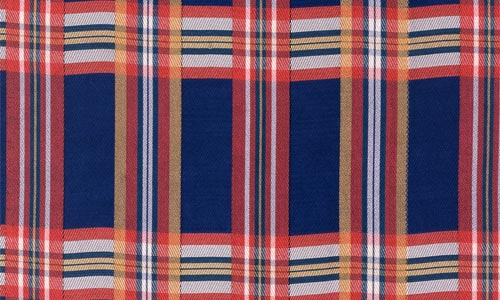 Largely Defined Plaid Fabric Texture