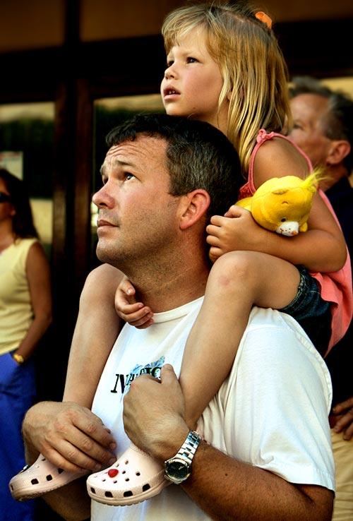 Mesmerizing Father and Child Photo