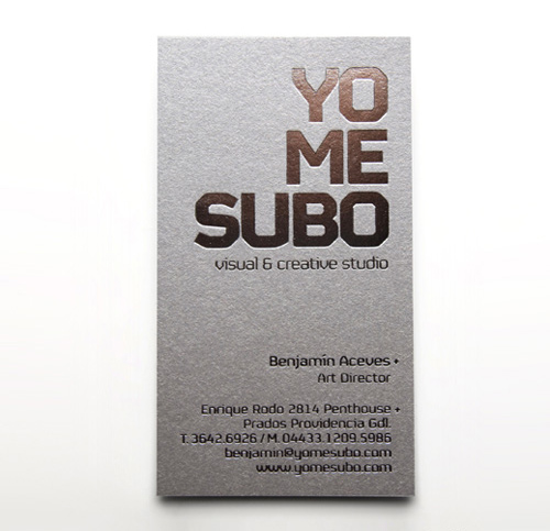Cool Business Card YoMeSubo