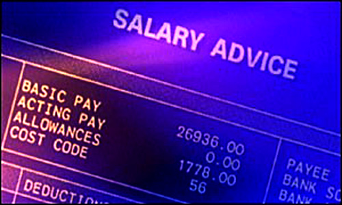 Consider salaries of previous jobs