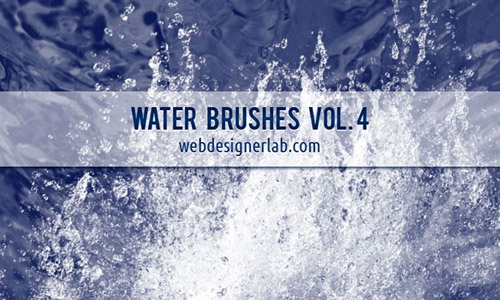 splash free water PS brushes