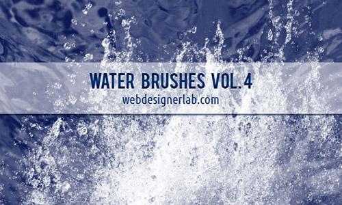splash free water PS brushes