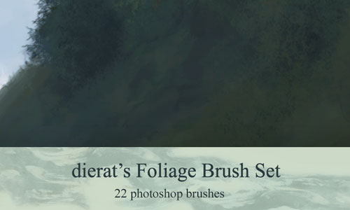 Compatibly Nice Leaf Brush Set