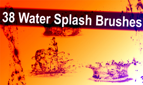 Water Splashing Brush