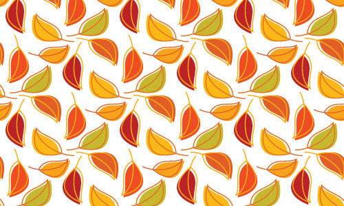 Equally Appealing Orange Pattern