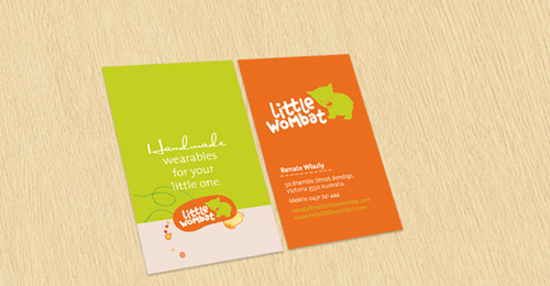 Cutie Little Orange Business Card