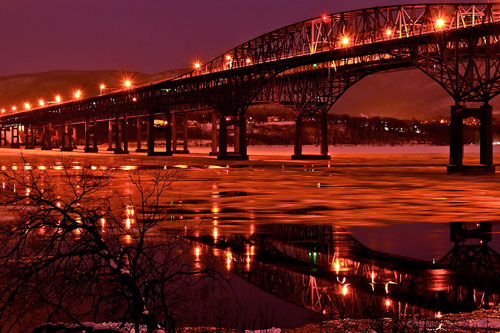 Fantastic Bridge Lights Photo