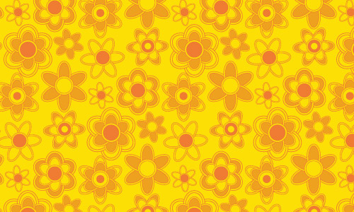 Head Turner Orange Pattern