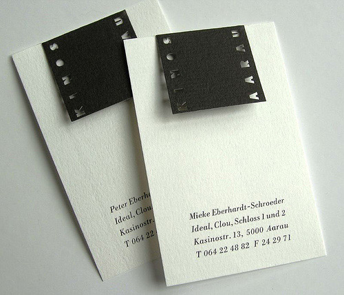 Really Rewarding B&W Business Card