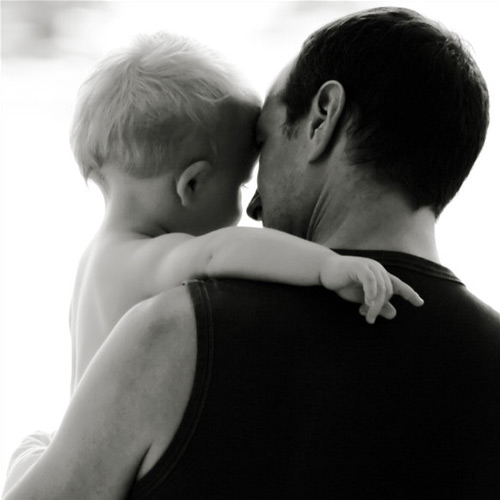 So Compassionate Father and Child Photography