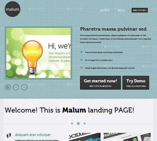 malum landing page