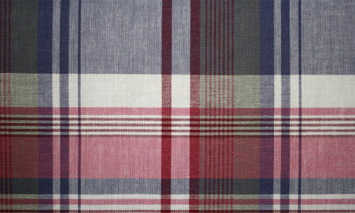 Nicely Woven Plaid Fabric texture