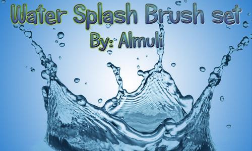 water splash photoshop