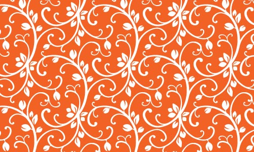 Inviting Orange Pattern