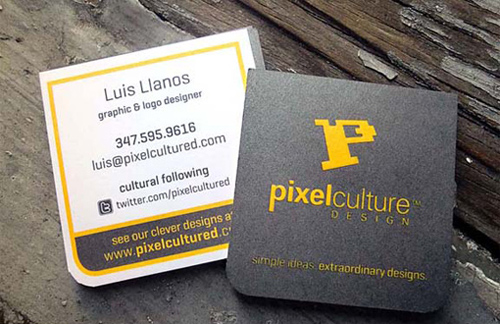 2×2 Square Business Cards