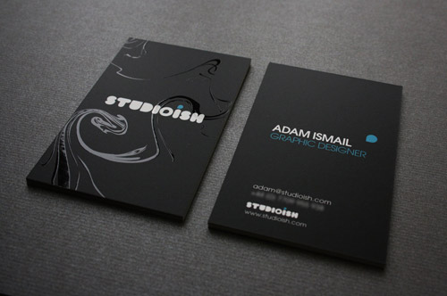 Neat and cool collection of black and white business cards naldz charming business card colourmoves