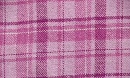Pretty in Pink Plaid Fabric  Texture
