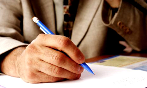 outline or task list