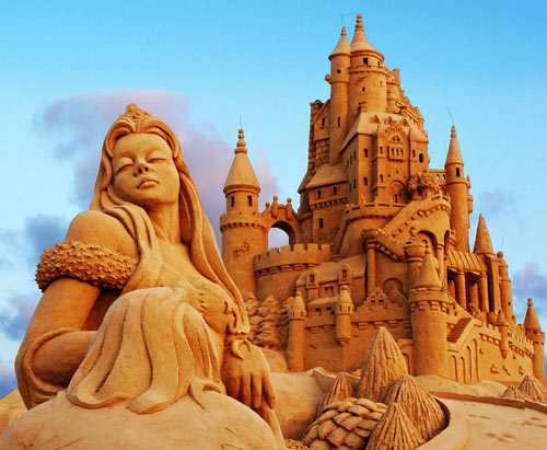 Meaningful Sand Sculpture