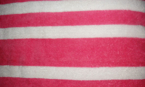 Cool On Skin Striped Fabric Texture