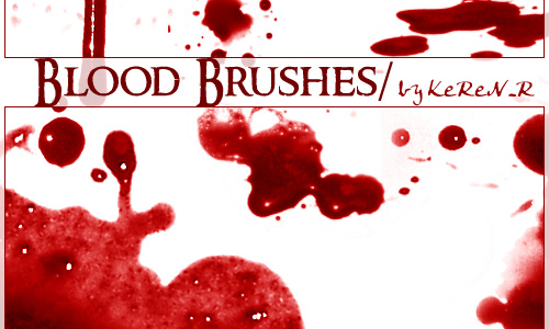 Blood Brushes Sending Goose Bumps