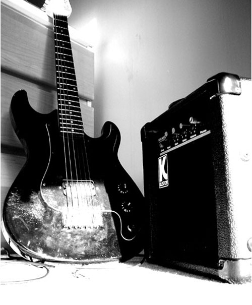 Indeed Photogenic Guitar Photo