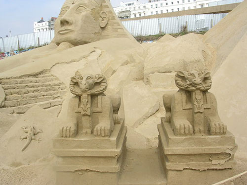 Egypt Inspiration in Sand