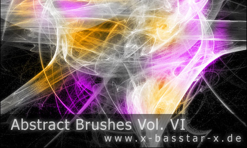 In Volume Abstract Photoshop Brushes