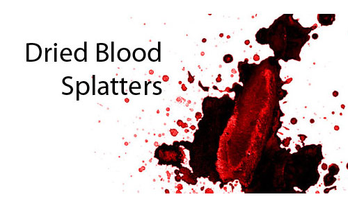 Splashing Blood Brushes