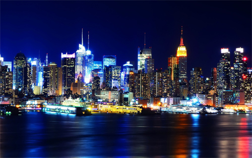 Manhattan, New York (HDR)