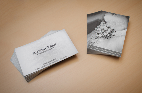 Antony Tran Photo - New Business Card