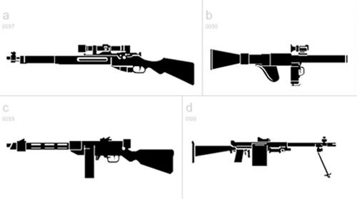 Military Dingbats font