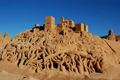 Undeniably Creative Artwork in Sand