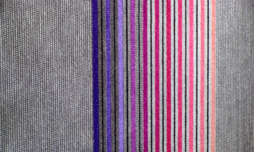 COded Striped Fabric Texture