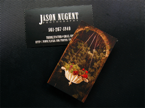 Jason Nugent Photography 16PT Matte Business Card