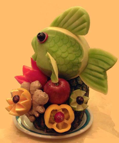 So Fresh Fish on Food Art