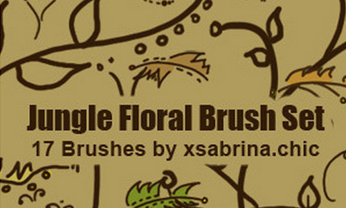 Rarely Nice Floral Brushes