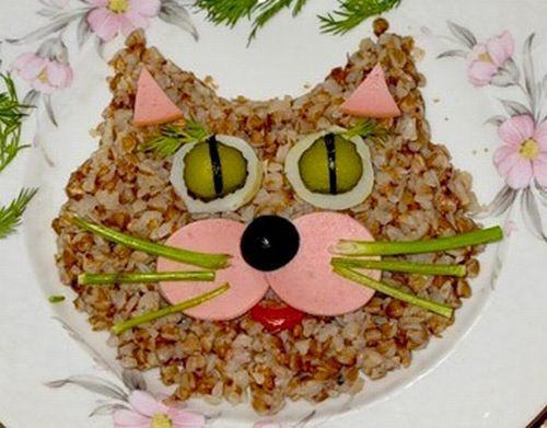 Cat-Like Japanese Food Art