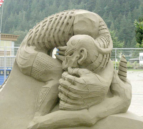 Flexible Sand Sculpture