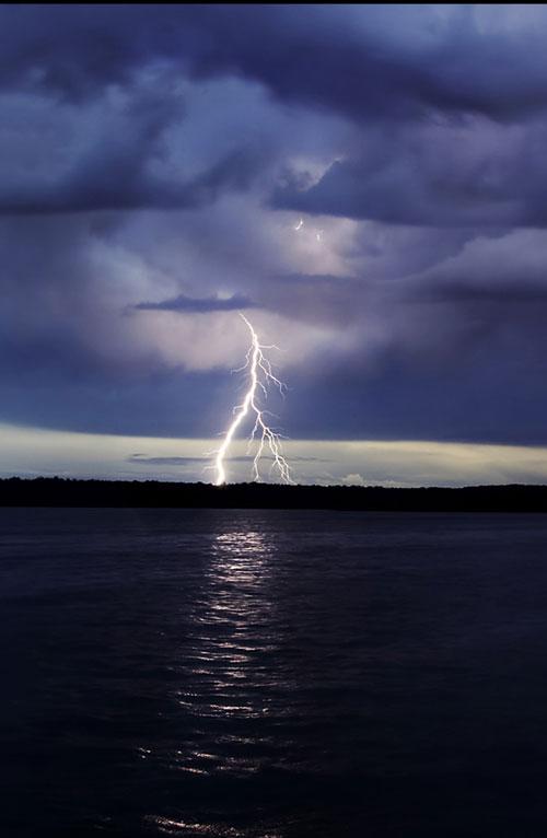 Taken Aback Storm Photo