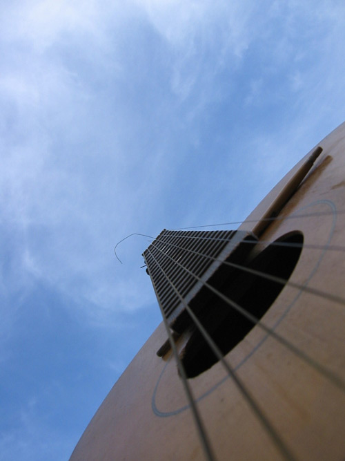 Guitar Photo Looking Up
