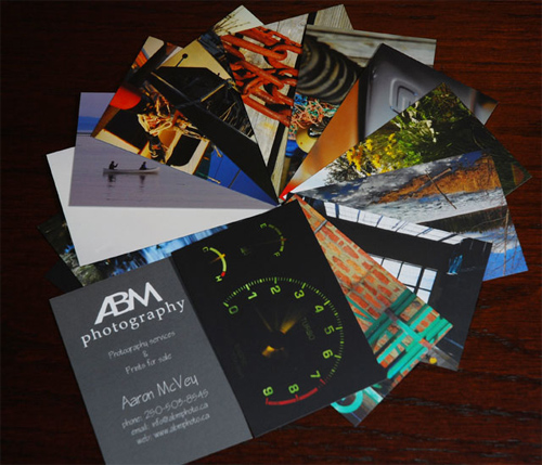 ABM Photography Business Card